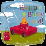 Dad Bday Lawn Mower