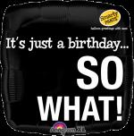 Birthday So What