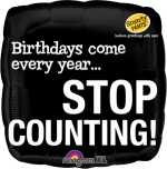 Birthday Stop Counting