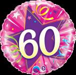60th Pink Star