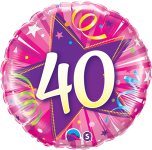 40th Pink Star