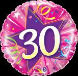 30th Pink Star