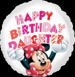 Minnie Birthday Daughter
