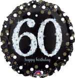 Glimmer Confetti 60th Birthday