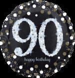 Glimmer Confetti 90th Birthday