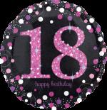 Pink Glimmer Confetti 18th