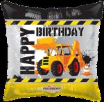 Happy Birthday Construction  Tractor