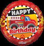 Happy Birthday Fire Truck