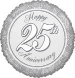 Happy 25th Anniverary Silvers