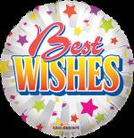 Best Wishes Star Burst