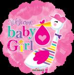 Baby Girl Stork