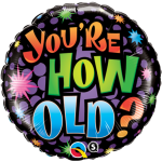 How Old Birthday
