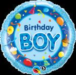Birthday Blue Boy