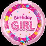 Birthday Pink Girl
