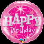 Birthday Pink Bright Stars
