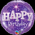 Birthday Bright Purple