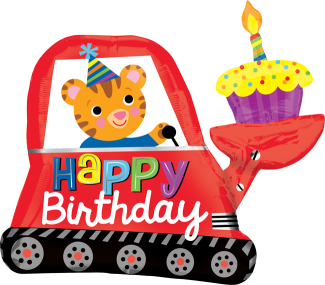 Birthday Dumper Cup Cake