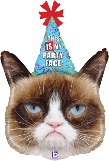 Grumpy Cat Party Face