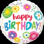 Birthday Bright Fowers