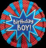 Birthday Boy Burst