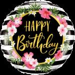 Happy Birthday Hibiscus