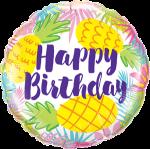 Birthday Pineapple Print