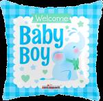 Elephant Welcome Baby Boy