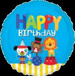 Happy Birthday Circus Fun