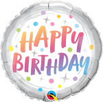 Birthday Rainbow Dots