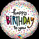 Happy Birthday To You Small Confetti