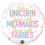 Unicorn Mermaid Fairies Messages