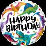 Birthday Colourful Dinosaurs