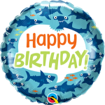 Birthday Fun Sharks
