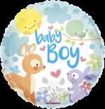 Baby Boy Woodland Animals