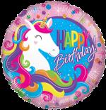 Birthday Colourful Unicorn