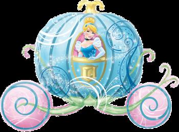 Princess Dream Big Happy Birthday Carriage