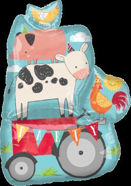 Farm Yard Fun Animal Tower