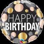 Birthday Big Metallic Dots