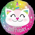 Caticorn Happy Birthday