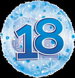 Jumbo Blue Streamers 18th Birthday