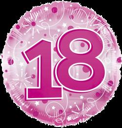 Jumbo Pink Streamers 18th Birthday