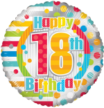 Colourful 18th Birthday