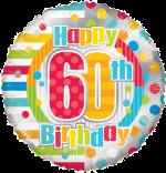 Colourful 60th Birthday