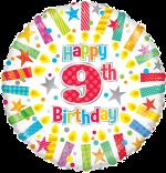 Colourful 9th Birthday
