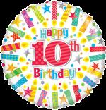 Colourful 10th Birthday