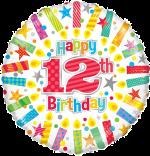 Colourful 12th Birthday