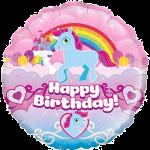 Unicorn Birthday Rainbow