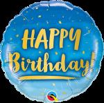Birthday Blue Ombre