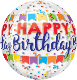 Happy Birthday Banner Orbz