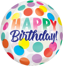 Happy Birthday Big Dots Orbz